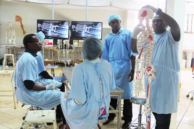 Anatomy Lab Kcmc Medical Education Partnership Initiative Mepi